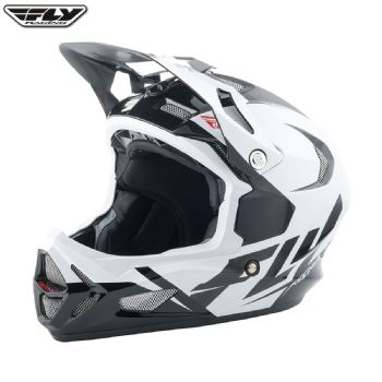 Fly 2017 Bike Werx Ultra Adult Helmet (White/Red/Black)